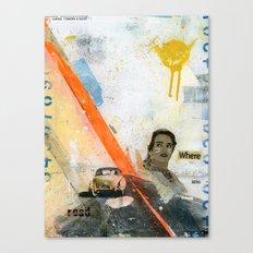 VACANCY zine Canvas Print