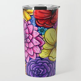 Floral Unity Travel Mug