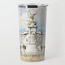 Buckingham Palace, London England Travel Mug