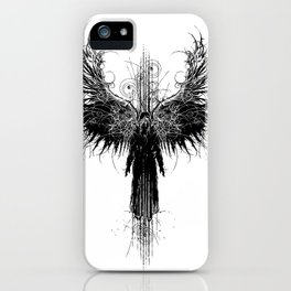 Particles and Angels iPhone Case