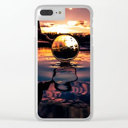 Looking Good. And wet. Clear iPhone Case