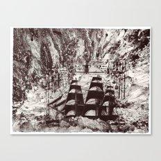 Rough Seas Ahead Canvas Print