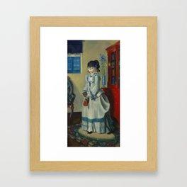 "George Wesley Bellows ""Lady Jean"" Framed Art Print"