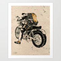 Hard & Heavy  Art Print