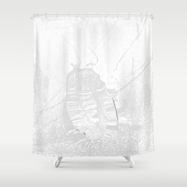 Heart in peace Shower Curtain