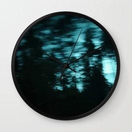 Dark Woods III Wall Clock
