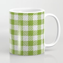 Olive Drab Buffalo Plaid Coffee Mug