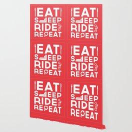 Eat Sleep Ride Repeat Wallpaper