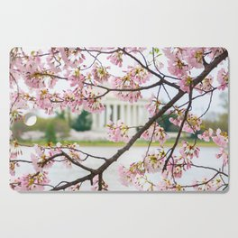 Jefferson through the Blossoms Cutting Board