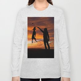 Sunset Workout Long Sleeve T-shirt