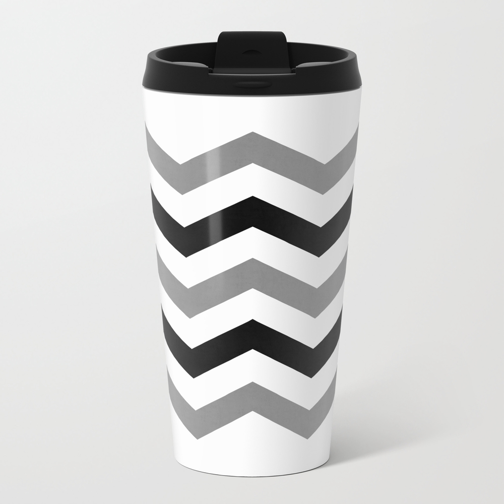 Simple Chevron Travel Cup TRM8954979