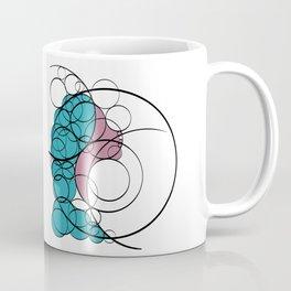 Woman in circles Coffee Mug