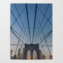 Brooklyn Mornings Poster