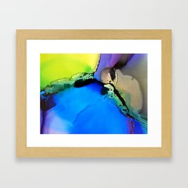 The sun is coming up Framed Art Print