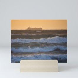 Sunrise Over Ocean Mini Art Print