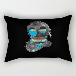 Diver No.12 Rectangular Pillow