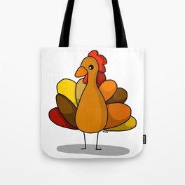 Turk-Tacular Thanksgiving Turkey Tote Bag