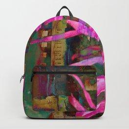 Electric Floral Burst Backpack