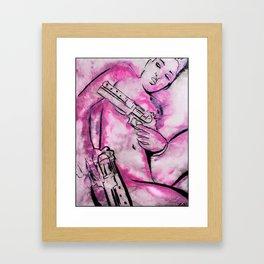 Caliber Love #3 Framed Art Print
