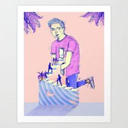 Hogar extraño Art Print
