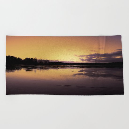The Radiant Beauty of Nature Beach Towel