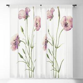Lilac Mariposa (Calochortus splendens) (1926) by Mary Vaux Walcott Blackout Curtain