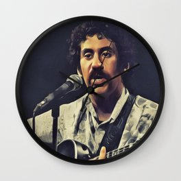 Jim Croce, Music Legend Wall Clock