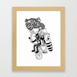 MonoScuba Framed Art Print