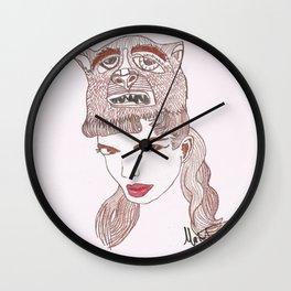 Animalia 1 Wall Clock