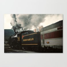 And the Journey Begins Canvas Print