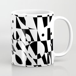 Fractured Structure Coffee Mug