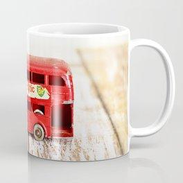Vintage Red London Bus Coffee Mug