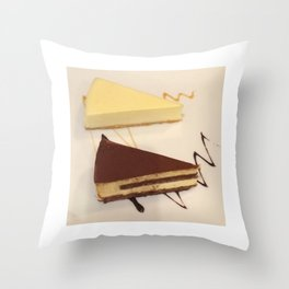 piece of cake Throw Pillow