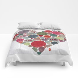 VALENTINE, my heart beats for you Comforters