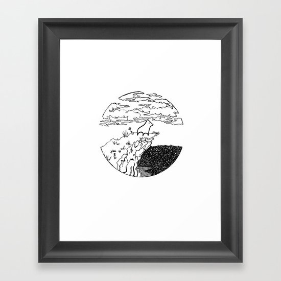 The Chosen One Framed Art Print