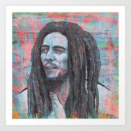 Mr. Marley - I Shot The Sheriff Art Print