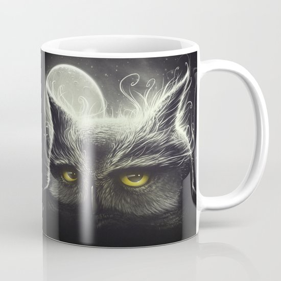 Owl & The Moon Mug