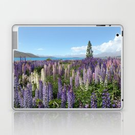 lavender field Laptop & iPad Skin
