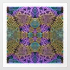 Complex Symmetry Art Print