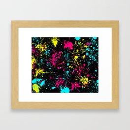 Splatter Art Framed Art Print