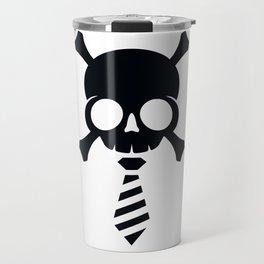 Skull Biz Black Travel Mug