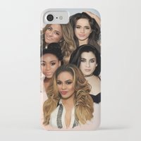 fifth harmony iPhone & iPod Cases featuring Fifth Harmony by Aaron Jason