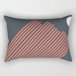 Moon Rays Rectangular Pillow