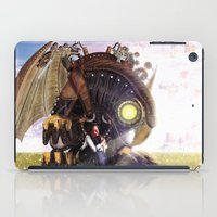 bioshock iPad Cases featuring Bioshock Infinite: The SongBird by GIOdesign