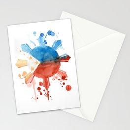 Philippine Flag Art Stationery Cards