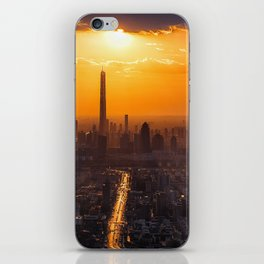 Tianjin City at Sunset iPhone Skin