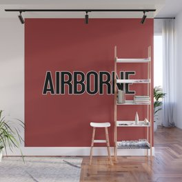 Airborne (Airborne Red) Wall Mural