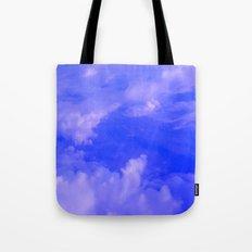 Aerial Blue Hues III Tote Bag