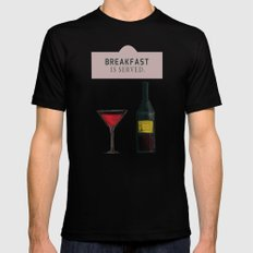 Drink With Me Mens Fitted Tee MEDIUM Black