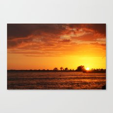 The day I lost my best friend  Canvas Print